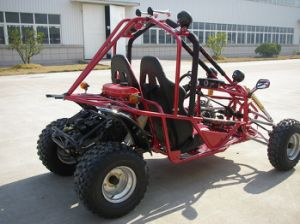 Chain Drive 150cc EEC Go Kart with Two Seats (KD 150GKA-2) pictures & photos
