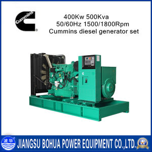 Best Price 500kVA Brushless Cummins Diesel Generator Set