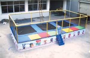 Jumping Trampoline for Kids pictures & photos