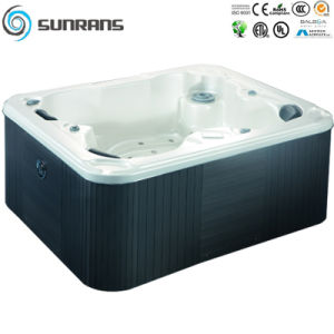 Design for a Family of 3 People Whirlpool Hot SPA Bathtub pictures & photos