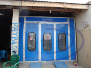 Auto Spray Booth with Exhaust Fan System Wld6200 pictures & photos