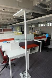 Guangzhou Uispair Modern Office 10W 32V Thin Rectangular Steel Base Aluminium Alloy LED Lamp Floor Lamp pictures & photos