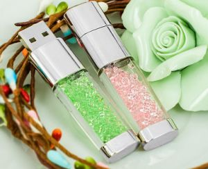 Hot Sell Crystal USB125MB-512GB Crystal USB Flash Drive pictures & photos