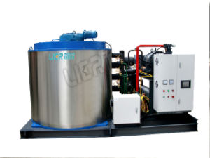 Water Cooled Flake Ice Machine for Seafood Cold Storage pictures & photos