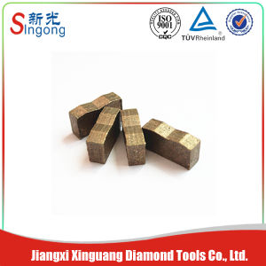 Made in China Diamond Cutting Product Diamond Stone Cutting Segment pictures & photos