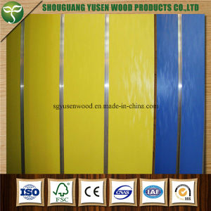 18mm Melamine Slotwall MDF From China pictures & photos