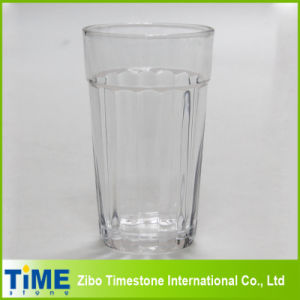 Large Glass Juice Cup with Vertical Strips (15052102) pictures & photos