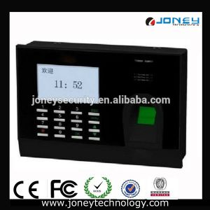 Cheap 3 Inch Black-White LCD Screen Fingerprint Time Attendance System pictures & photos