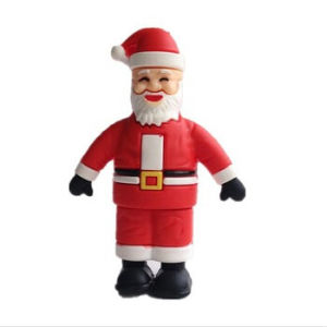 3D PVC Santa Claus 1GB ~ 64GB USB Flash Drive pictures & photos