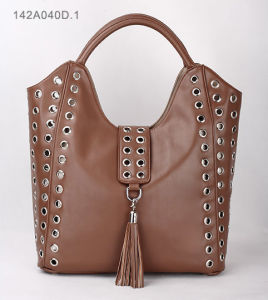 Fashion Lady PU Handbag (JYB-29195) pictures & photos