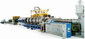 Double-Wall Corrugated Pipes Extruding Production Line pictures & photos