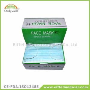 9001V Disposable Medical Non-Woven Haze Face Mask pictures & photos