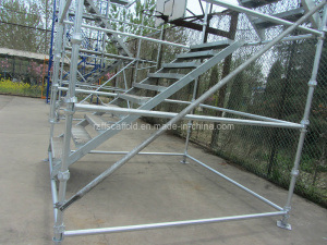 Scaffolding Rolling Tower Popular in Norway pictures & photos
