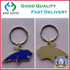 3D Soccer Customized Rubber Keychains pictures & photos