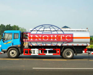 4m3 - 20m3 refuel tank truck, 4X2 6X4 FAW Refuel Truck pictures & photos