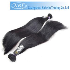 Full Cuticle Brazilian Jet Black Human Hair pictures & photos
