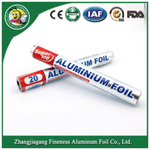 Household Aluminum Foil Roll with Shrink Film pictures & photos