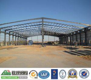 Wide Span Steel Frame Workshop Without Middile Column pictures & photos