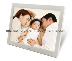 12.1inch Multi-Media Video Music Pictures Advertising Digital Photo Frames (HB-DPF1203) pictures & photos