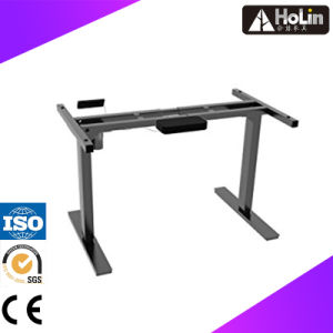 Electrci Sit Stand Office Workstation Desk with Height Adjustment pictures & photos