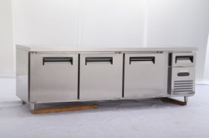 Ce Approval Commercial Work Table Refrigerator for Kitchen (TG24L3) pictures & photos