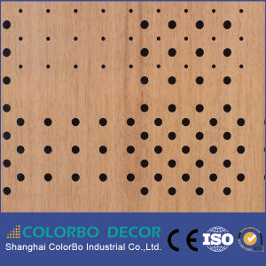 Perforated MDF Soundproof Wall Acoustic Panel pictures & photos