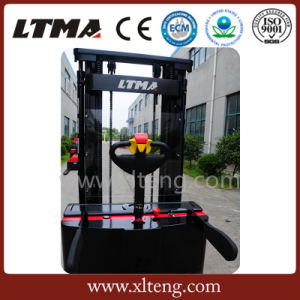 Ltma 2t Operate Convenient Battery Stacker Fork Lifter pictures & photos