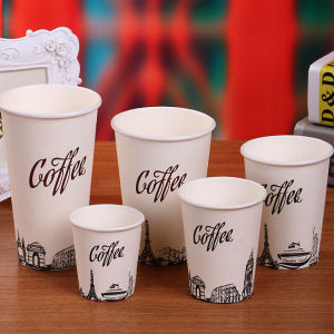 Custom Disposable Cartoon Paper Cup 6 Oz for Cold Drink pictures & photos