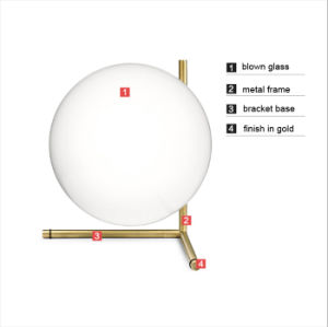 Contemporary Tripod Glass Table Lamp Light pictures & photos