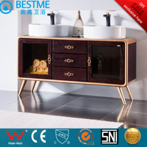 Luxurious Bathroom Vanities with One-Piece Washing Basin by-X7078 pictures & photos