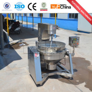 Automatic Gas Heating Caramel Popcorn Machine pictures & photos