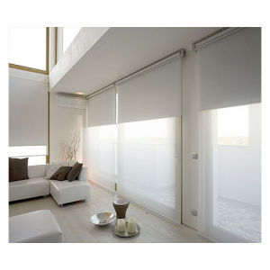 Manually Operated Sunblock Shade, Solar Shade, Roll up Window Blind pictures & photos