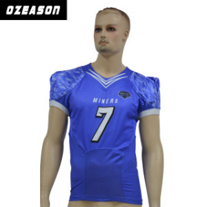 Custom Made American Football Practice Jersey American Football Shirts (AF013) pictures & photos