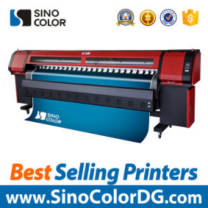 3.2m Sinocolor Km-512I Solvent Printer with Konica Printhead pictures & photos