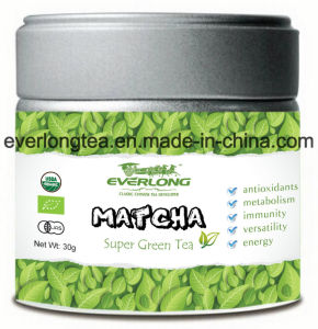 Matcha Super Green Tea Powder Japanese Style 100% Organic EU Nop Jas Certified Small Order Avaliable pictures & photos