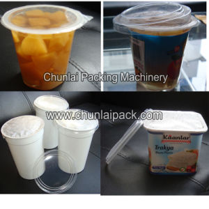 Linear Automatic Cup Filling and Sealing Machine pictures & photos