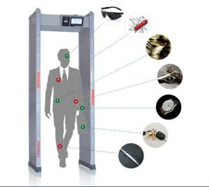 Portable Multizone Walk Through Metal Detector pictures & photos