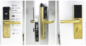 Honglg Free Hotel Lock System with Interface to Fidelio Pms pictures & photos