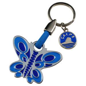 Wholesales Souvenirs Alloy Keychain with Praha Logo Llavero Melalico pictures & photos
