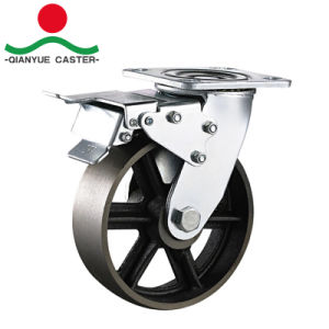 Heavy Duty Cast Iron V Groove Steel Caster pictures & photos
