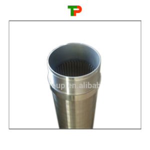 Stainless Steel Wrapped Wire Filter Screen pictures & photos
