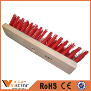 Household Cleaning Tools Hard Fiber Plastic Floor Brush Broom pictures & photos
