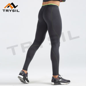 Men Gym Wear Pants Tight Quick Dry Sports Clothes Fitness Legging Apparel pictures & photos