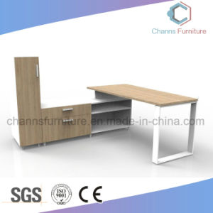 Modern Wood Office Furniture Executive Desk with Cabinet pictures & photos