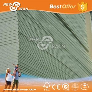 Factory Direct Prices 12mm 15mm Moisture-Resistant Gypsum Board pictures & photos