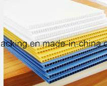 PP Flute Plate Coroplast Corflute Backboard/Waterproof Polypropylene Corrugated Sheet pictures & photos