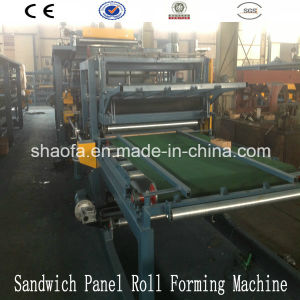 EPS Rock Wool Sandwich Panel Line Foam Sheet Making Machine Manufacturer pictures & photos