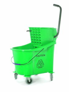 36L Hotel&Hospital Plastic Wringer Mop Bucket pictures & photos