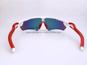 Polarized Mountain Bike Cycling 3 Lenses Sunglasses Fashion UV400 Sports PC Road Goggles Protect Eyes Muti-Colors Sun Shades pictures & photos