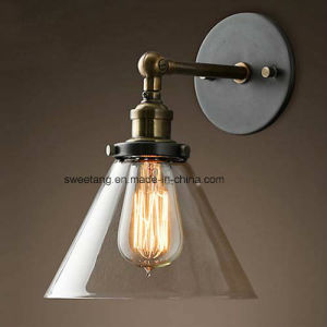 Indoor Simple Glass Wall Lamp for Room Decoration pictures & photos
